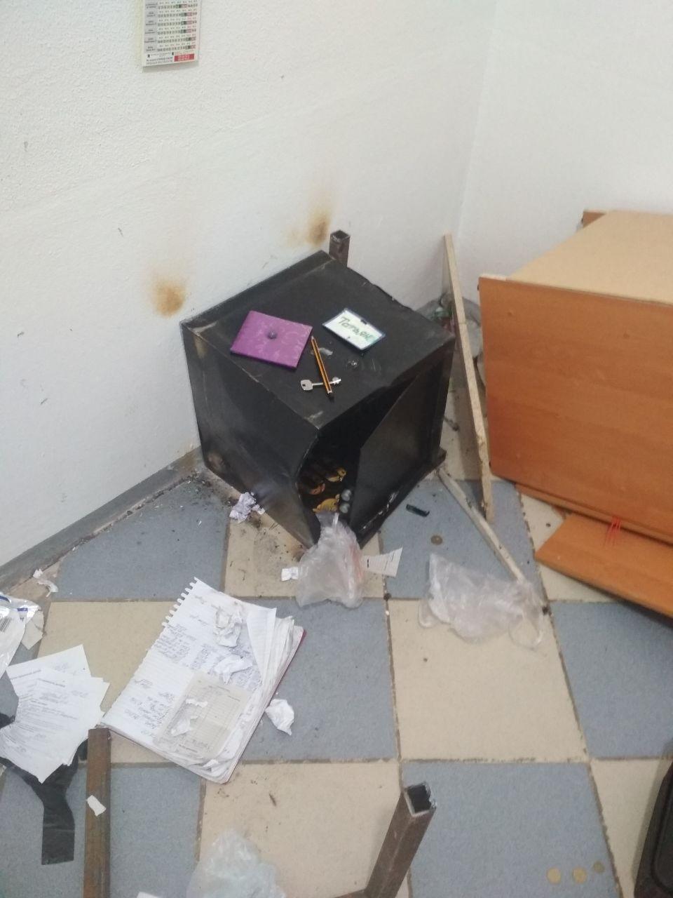 В Запорожье произошло ограбление магазина (Фото, Видео)
