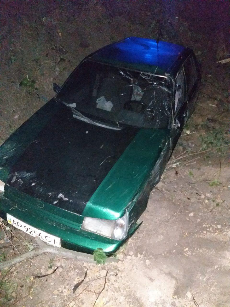 В Запорожской области столкнулись две легковушки (Фото)