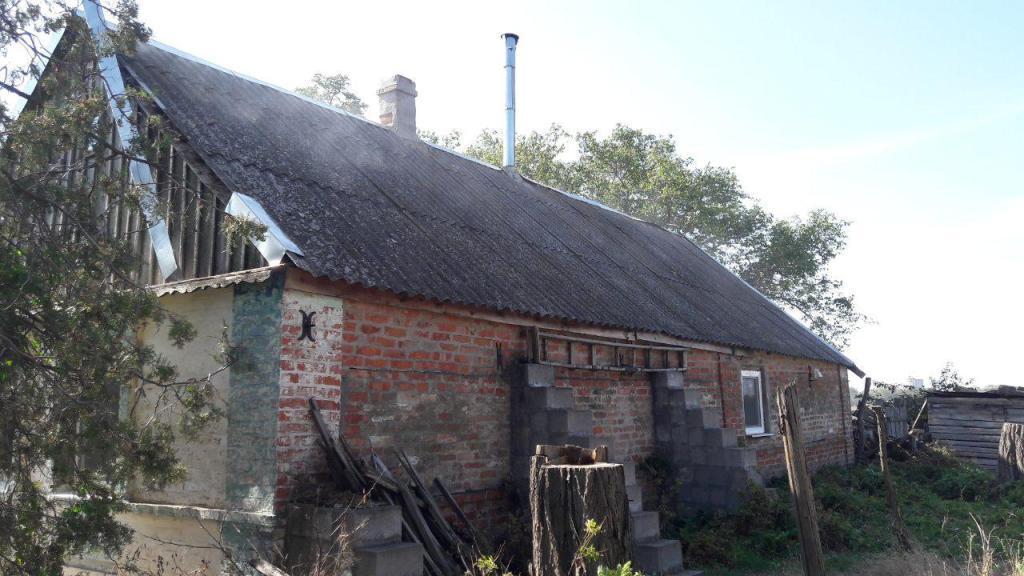 В Запорожской области пенсионер едва не сгорел в собственном доме (Фото)