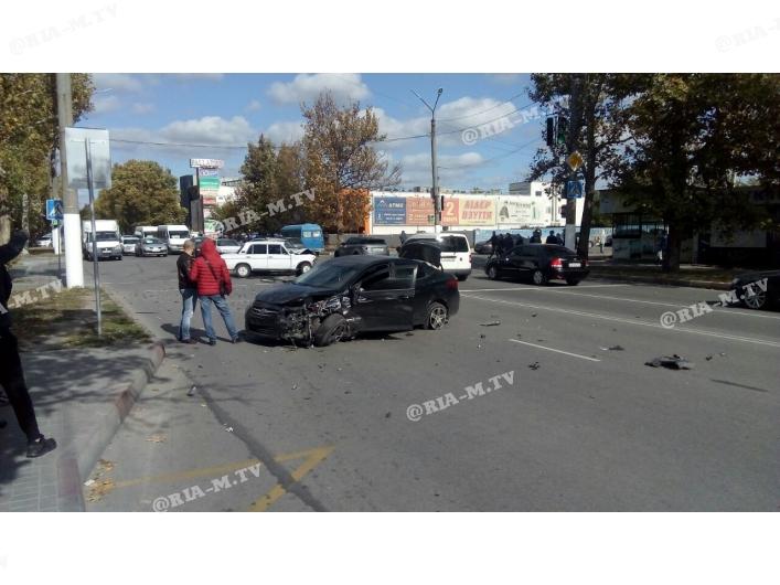 В Запорожской области произошло ДТП, есть пострадавшие (Фото)