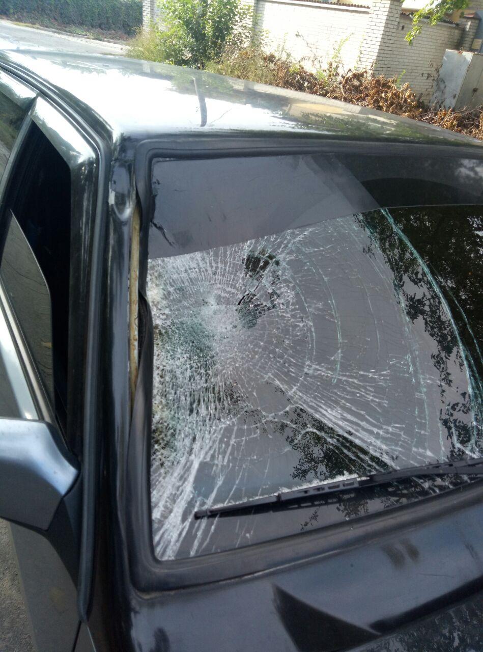 В Запорожье легковушка сбила женщину (Фото)