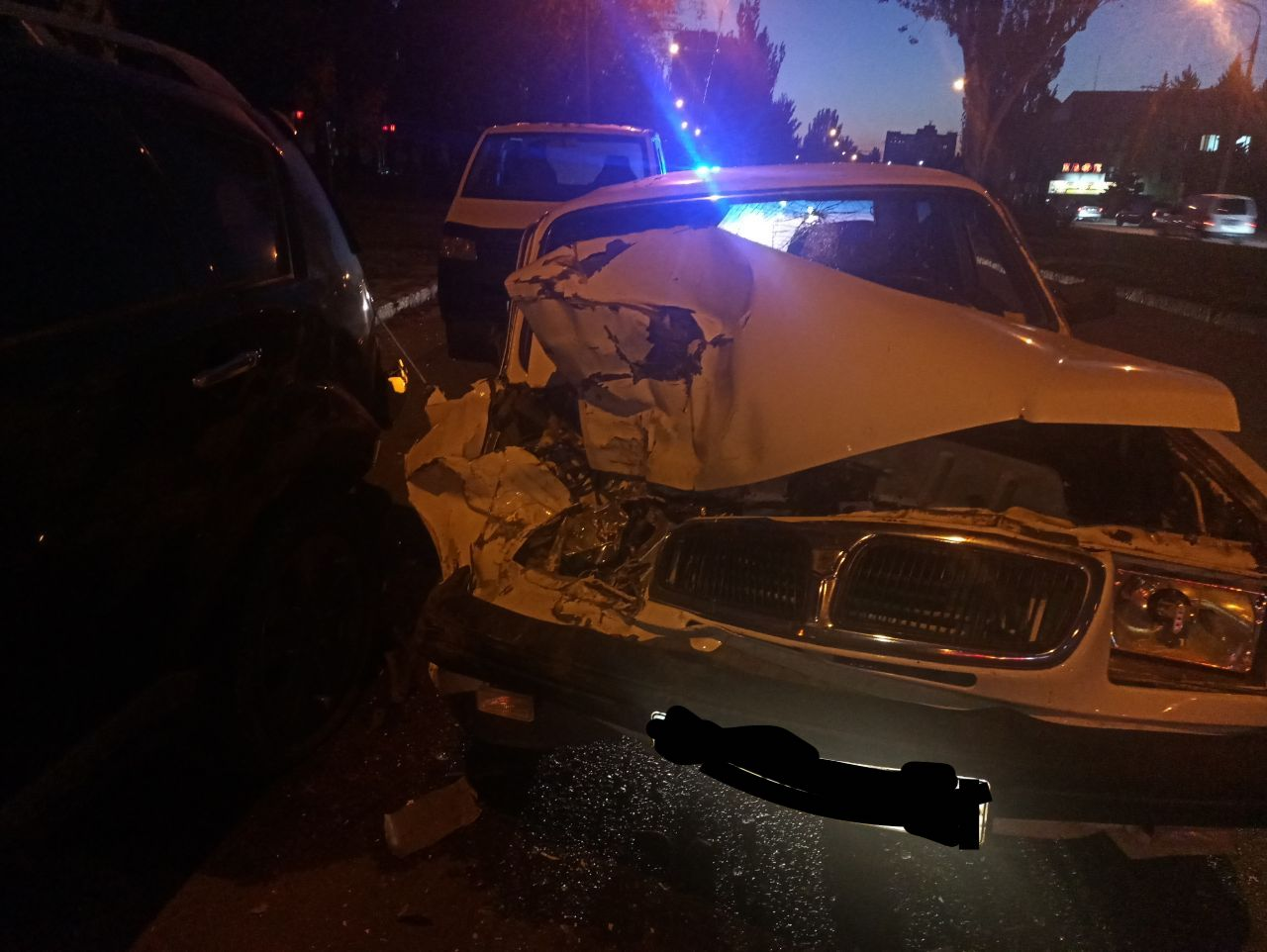 В Запорожье пьяный водитель спровоцировал серьёзное ДТП (Фото)