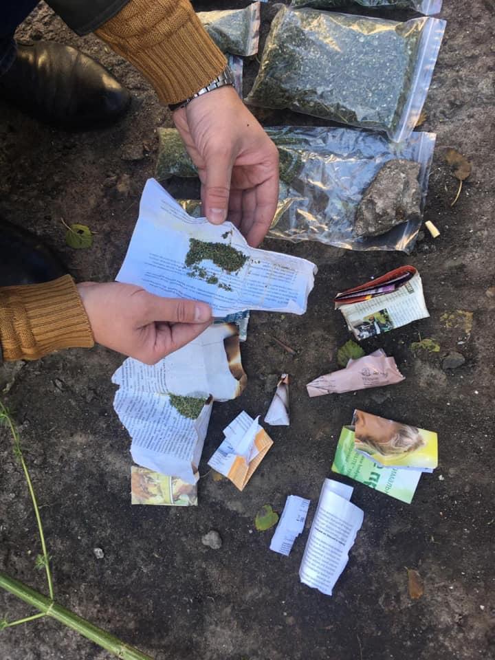 В одном из запорожских домов обнаружено полтора килограмма наркотиков (Фото)