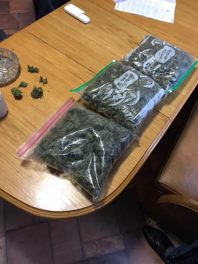 Запорожские правоохранители обнаружили 2 килограмма наркотиков в одном из частных домов