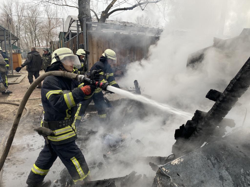 В Запорожской области произошел массовый пожар (Фото, Видео)