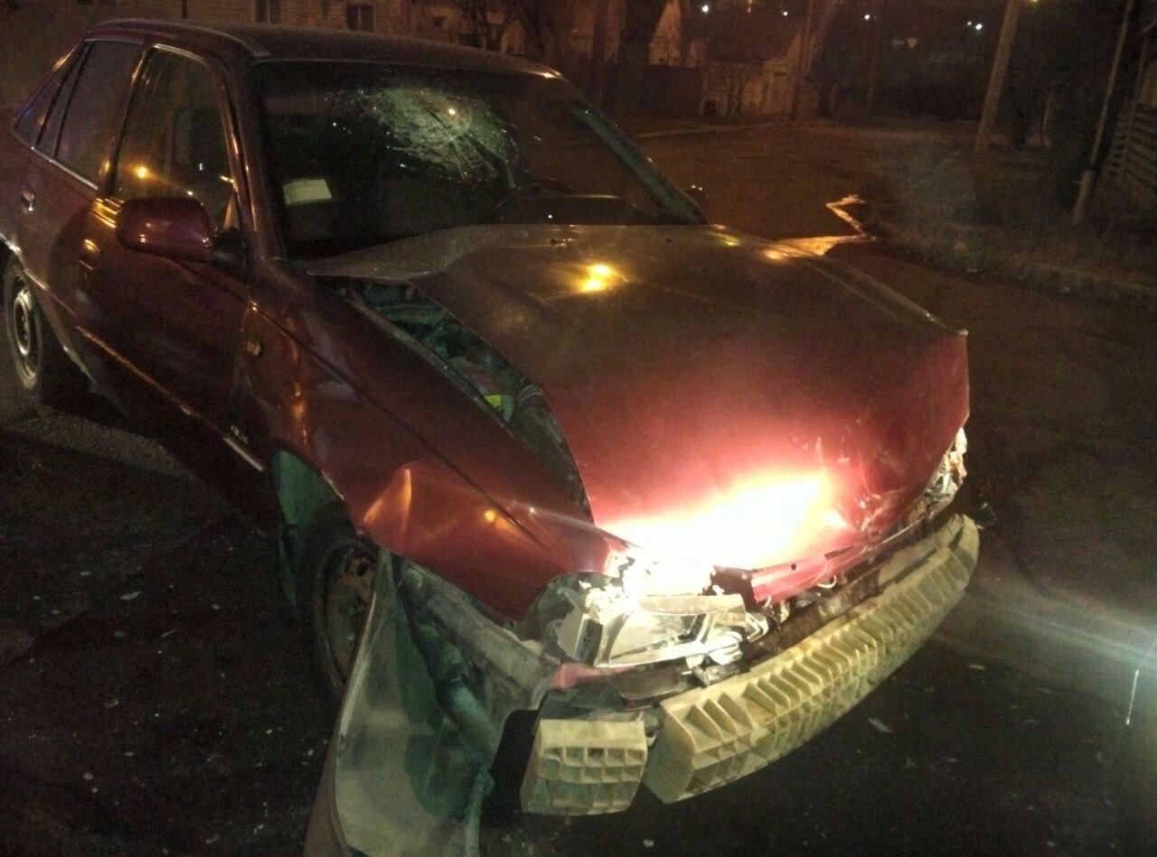 В Запорожье произошло ДТП, есть пострадавшие (Фото)