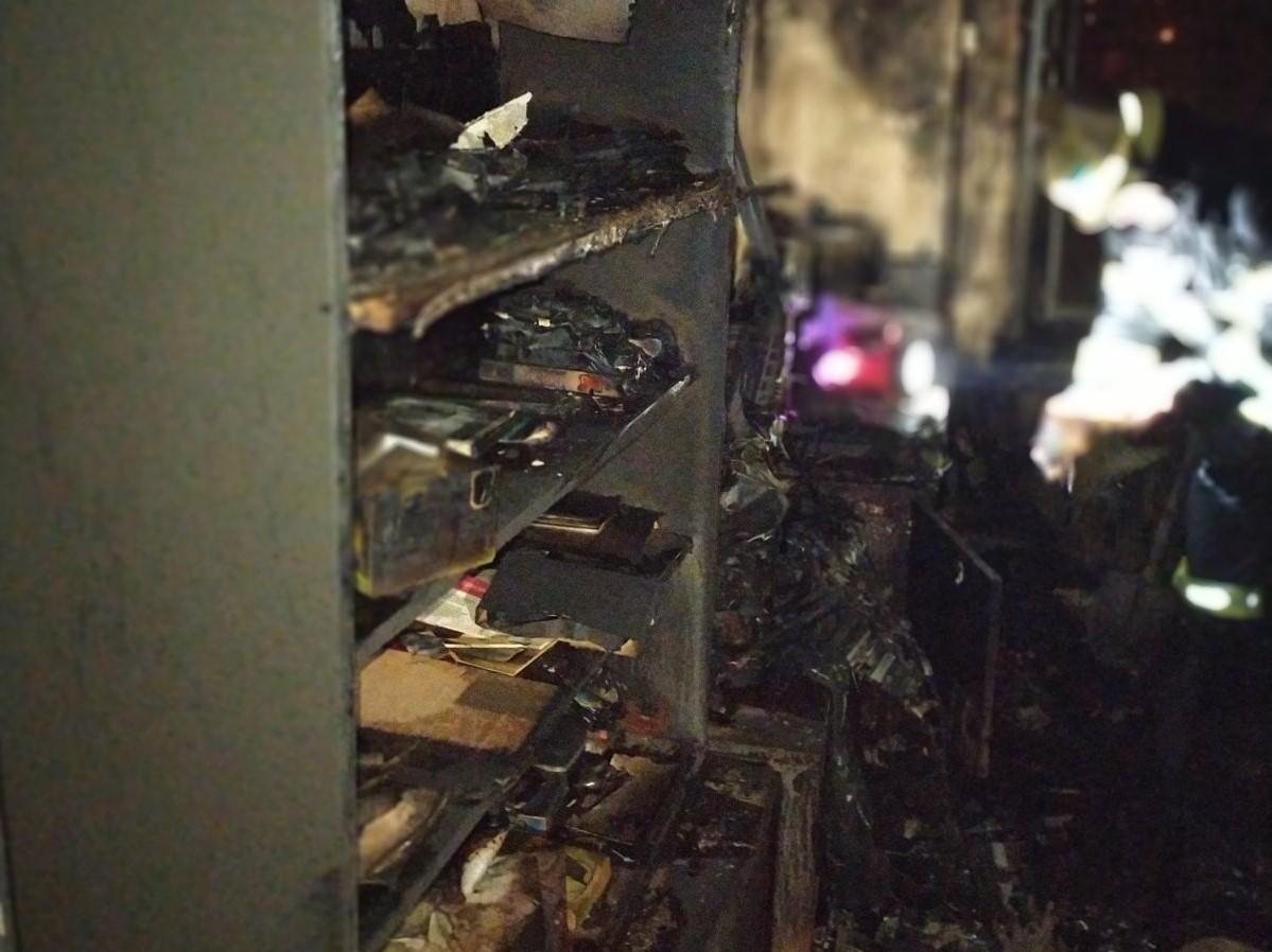 В Запорожской области заживо сгорели двое мужчин (ФОТО)