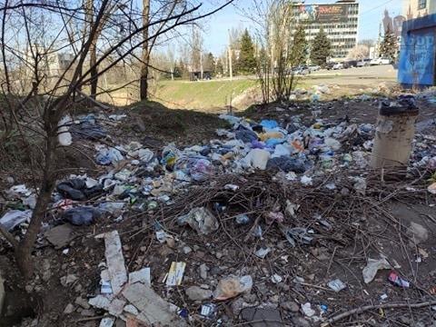 В Запорожье горожане жалуются на новые свалки мусора