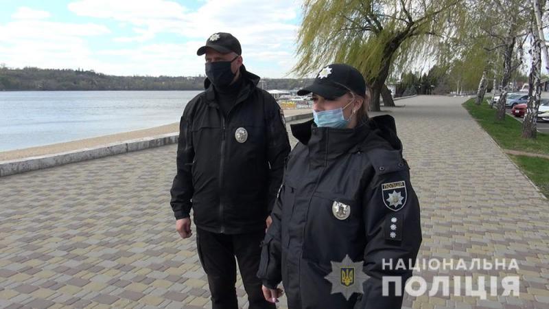 В Запорожье 330 раз нарушили карантинный режим – полиция