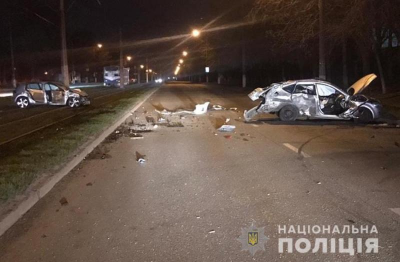 В Заводском районе Запорожья погиб водитель легковушки