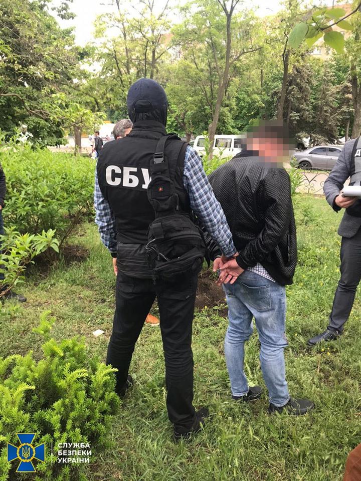 Сотрудники СБУ Запорожья задержали высокопоставленного чиновника (Фото)