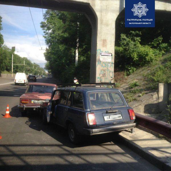 Пьяный водитель спровоцировал ДТП в Запорожье