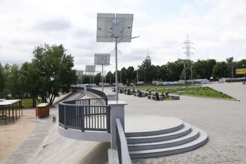 Реконструкция Правобережного пляжа в Запорожье завершена: когда откроется для запорожцев