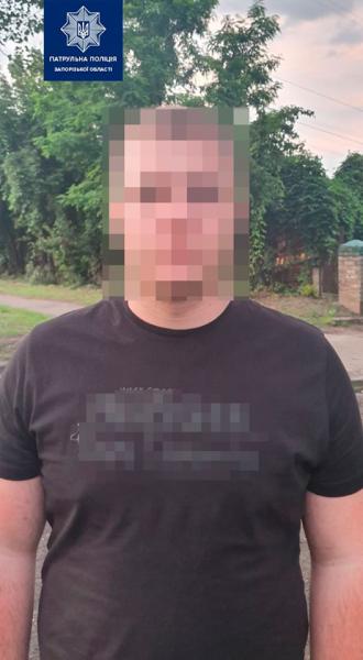 В Запорожье задержали вооруженных «закладчиков», которые пытались сбежать на авто
