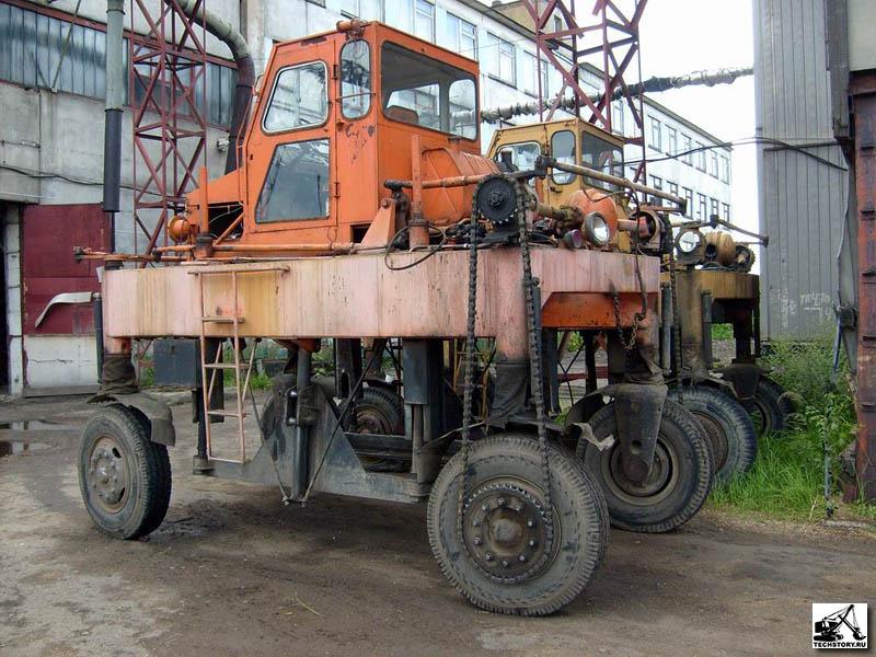 В Украине восстановят уникальный автолесовоз
