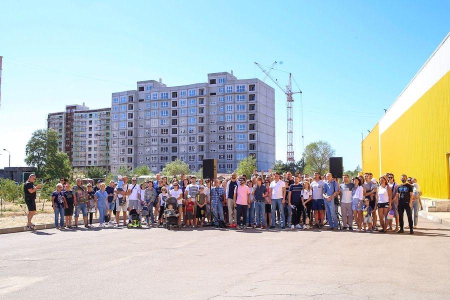 Мы найдем способ достроить объекты, – Виталий Тишечко встретился с обманутыми инвесторами ЖК «Казак Сити» и «Монолит»
